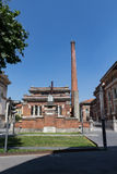 Old industry in the south #5. Salsomaggiore Italy Royalty Free Stock Photo