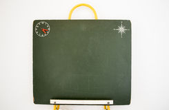 Old infant blackboard Stock Image