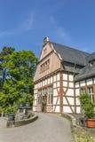 The old inhalatorium in Bad Nauheim, Germany serves as public li Stock Photography