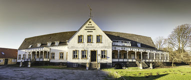 Old inn at Korinth on funen in Denmark Stock Photography