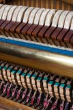 Old inside element piano Royalty Free Stock Photo