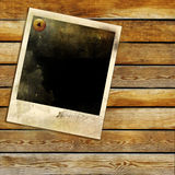 Old instant frame Royalty Free Stock Photography