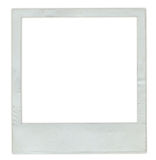 Old instant photo frame Royalty Free Stock Images
