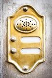 Old intercom. At a villa in rome Stock Image