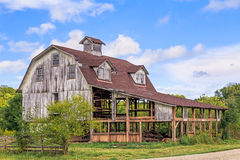 Old Interesting Barn Royalty Free Stock Images