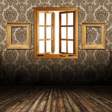 old interior with Royalty Free Stock Image