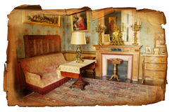 Old interior Royalty Free Stock Image