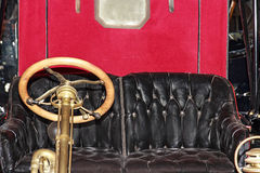Old interior car Stock Photos