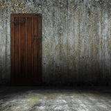 Old interior door Royalty Free Stock Photo