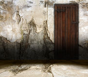 Old interior door Stock Photography