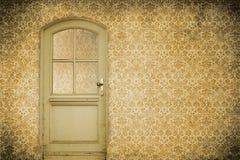 Old interior door Royalty Free Stock Photos