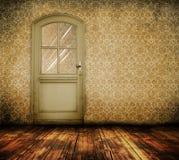 Old interior door Stock Image