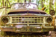 Old International Harvester Royalty Free Stock Photo