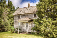 Old Iowa Farmhouse Royalty Free Stock Image
