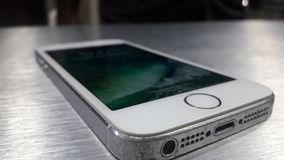 Old iPhone stock photo