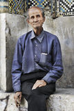 An old Iranian man,shiraz Iran stock images