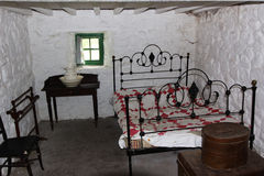 Old Irish Bedroom Stock Image