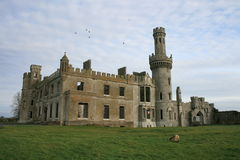Old Irish castle ruins Royalty Free Stock Images