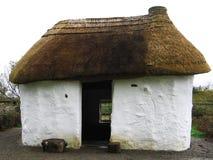 Old Irish Cottage. Traditional Irish Cottage with thatch royalty free stock photo