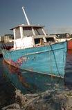 OLD IRISH FISHING BOAT Royalty Free Stock Photo
