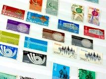 vintage Irish stamps  Stock Images