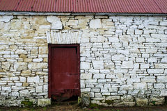 Old irish stone buildin. G architecture design background Royalty Free Stock Photo
