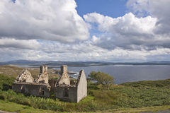 Old Irish Stone cottage in Ruins Royalty Free Stock Photos
