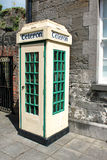 Old Irish Telephone Box Stock Photography