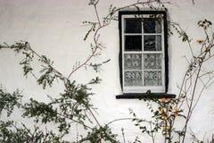 Old irish window 2 Royalty Free Stock Photos