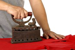 Old iron Royalty Free Stock Photography