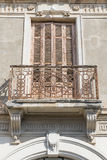 Old iron balcony Stock Photography