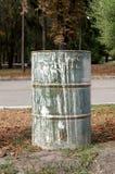 Old iron barrel Stock Photography