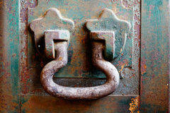 Old Iron box Handle Stock Photography