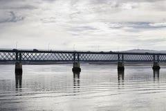 Old iron bridge Royalty Free Stock Image