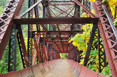 Old Iron Bridge Royalty Free Stock Photography