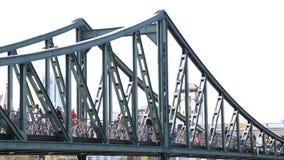Old iron bridge stock footage