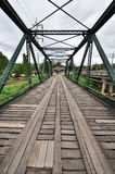The old iron bridge Stock Image