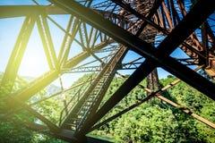Old iron bridge Stock Photos