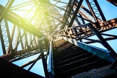 Old iron bridge Stock Photography