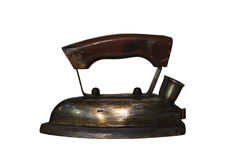 Old iron with clipping path Stock Photo