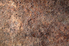 old iron covered with rust Stock Image