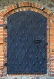 Old iron door Stock Photo