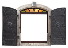 Old iron door Royalty Free Stock Image
