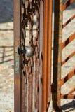 Old iron door Royalty Free Stock Image