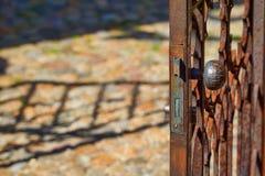 Old iron door Stock Photography