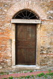 Old iron door Stock Photography