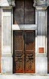 Old iron door Royalty Free Stock Photos