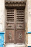 Old iron door, Istanbul, Turkey Stock Photo