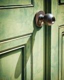 Old iron doorknob Royalty Free Stock Photos
