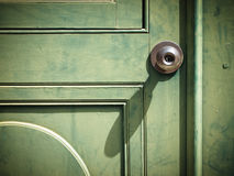 Old iron doorknob Royalty Free Stock Image